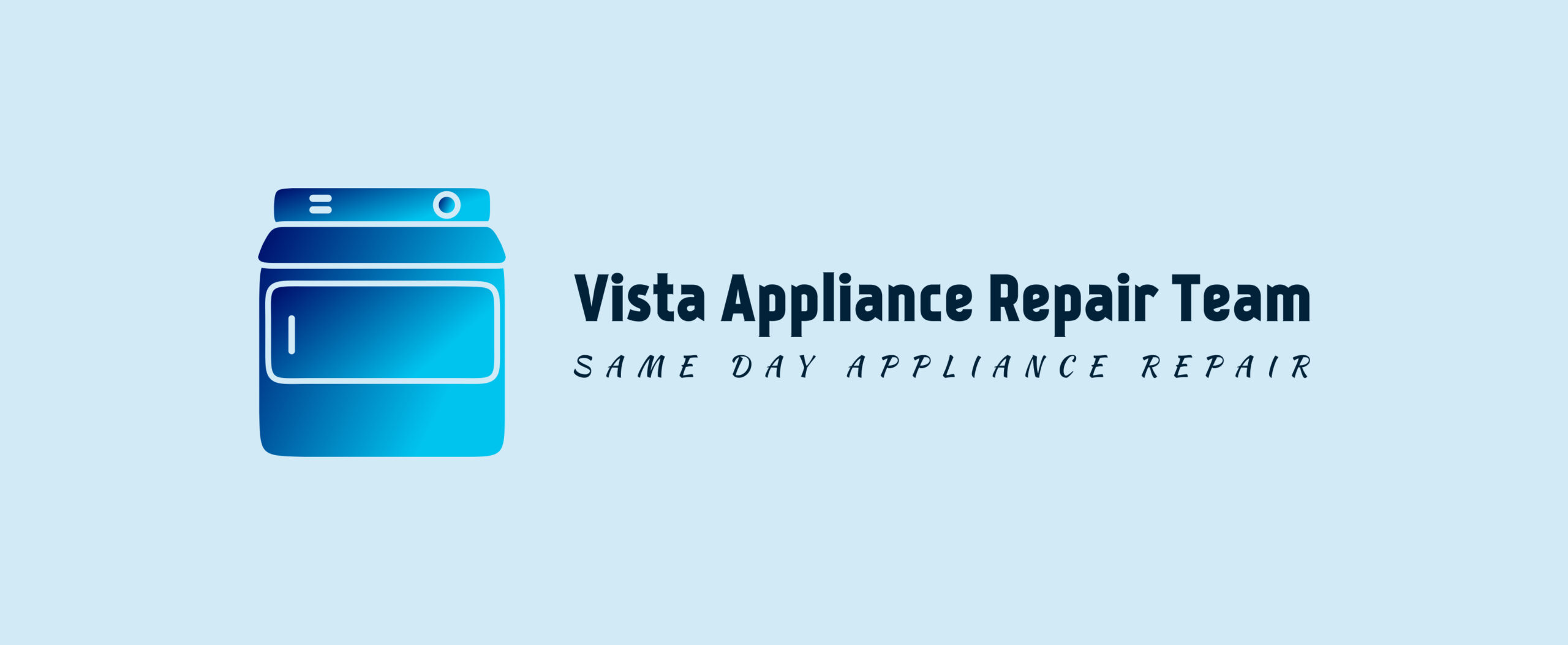 Vista Appliance Repair Team Logo